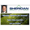 Dan Sheridan – Trading Weekly Options For Income 2016