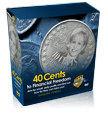Darlene Powell - 40 Cents - 5 DVD Set + Workbook